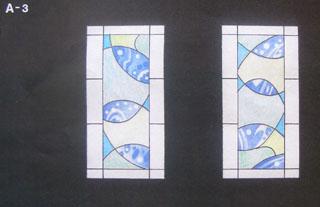 旭川友の家 ステンドグラス原画