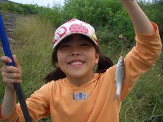 釣り ヌマチチブ