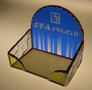 ステンドグラスカード入れ ボザール