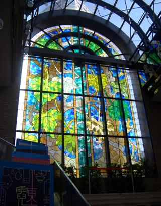 ステンドグラス 飯田橋区界ホール
