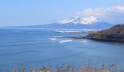 大沼公園 駒ケ岳 活火山