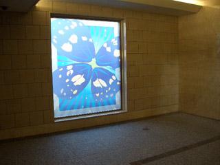 吹田市 やすらぎ苑 炉前ホール 合わせガラス