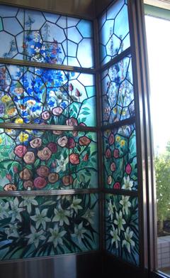 ステンドグラス しらゆり園